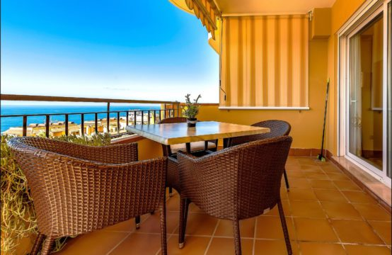 "Luxury penthouse with 2 bedrooms in the residential complex ""Playa la Arena"""