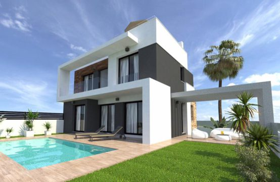 Independent villas in Lomas de Cabo Roig, Torrevieja