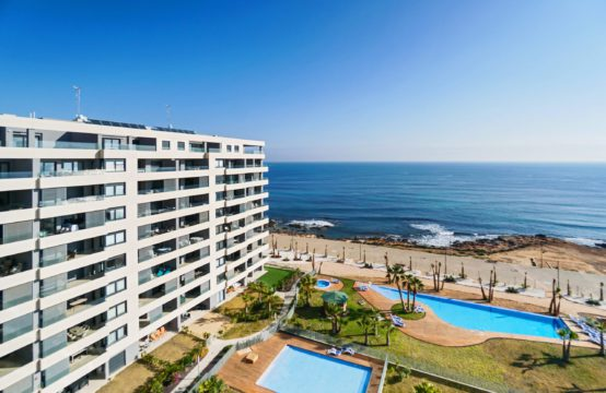 Apartments on the seafront in Punta Prima, Orihuela Costa