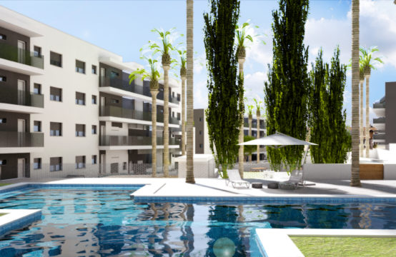 New built apartments few meters from Valentino golf, Villamartin.